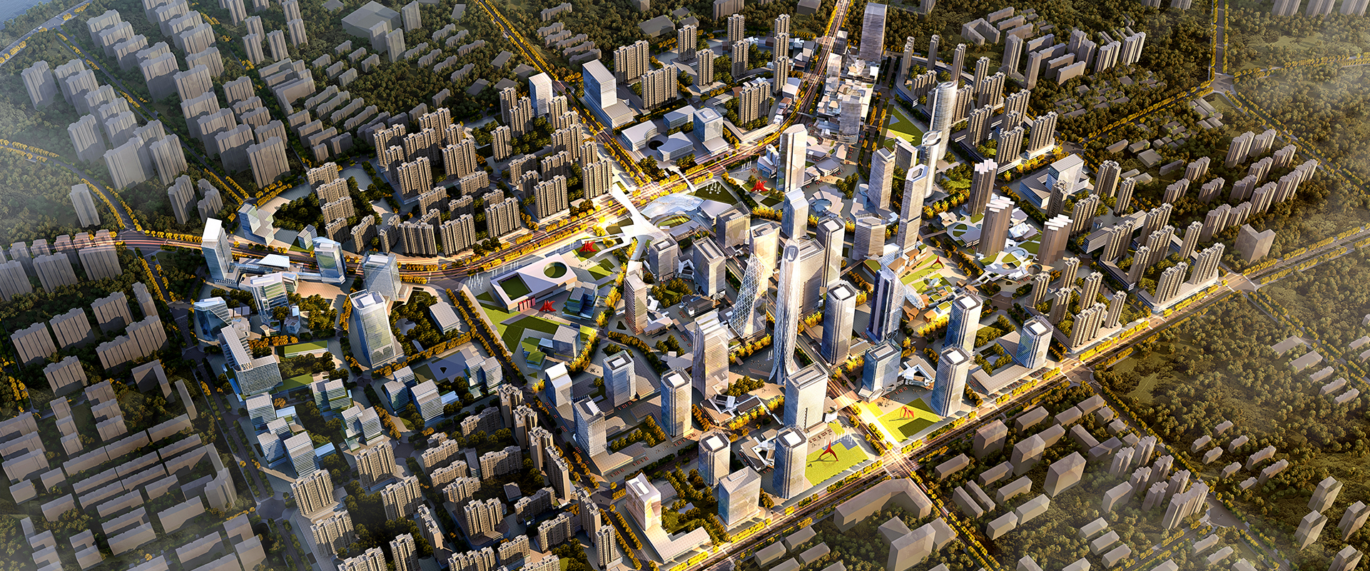 Vanke Lanzhou Anning District CBD Urban Design