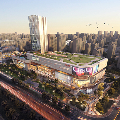 Xi'an Fengxi Metropolis Plot #5 Retail Design